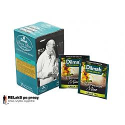 Dilmah Green Tea Moroccan Mint – zielona herbata z miętą 25 kopert