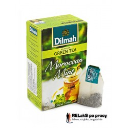 Dilmah Green Tea Moroccan Mint [20x1.5g]