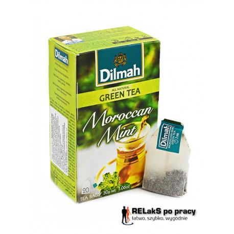 Dilmah Green Tea Moroccan Mint [20x1.5g]
