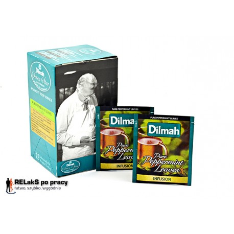 Herbata miętowa Dilmah Pure Peppermint 25 kopert