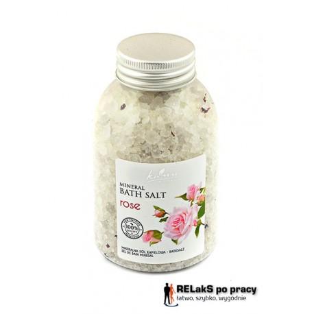 Sól mineralna - Róża 550g