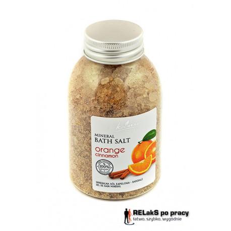 Sól mineralna – Pomarańcz i Cynamon 250 g