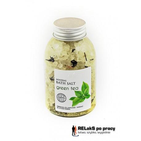 Sól mineralna - Zielona herbata