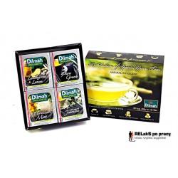 Herbaciana bombonierka Dilmah A Selection of Special Green Teas 40 kopert
