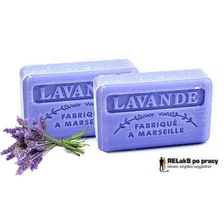 Duopak mydło marsylskie o zapachu lawendy 125g