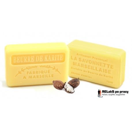 Mydło marsylskie z Masła Shea 125g