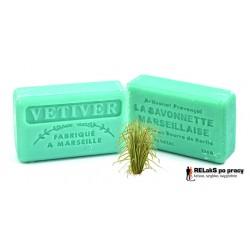 Mydło marsylskie o męskim zapachu trawy wetiwer 125g