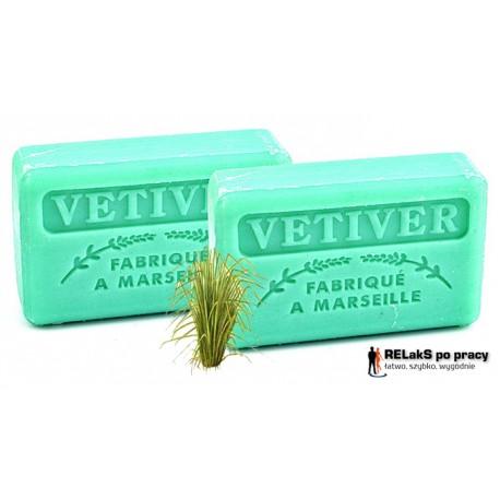 Duopak mydło marsylskie o męskim zapachu trawy wetiwer 125g