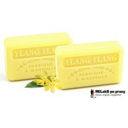 Duopak mydło marsylskie o zapachu Ylang-ylang 125g