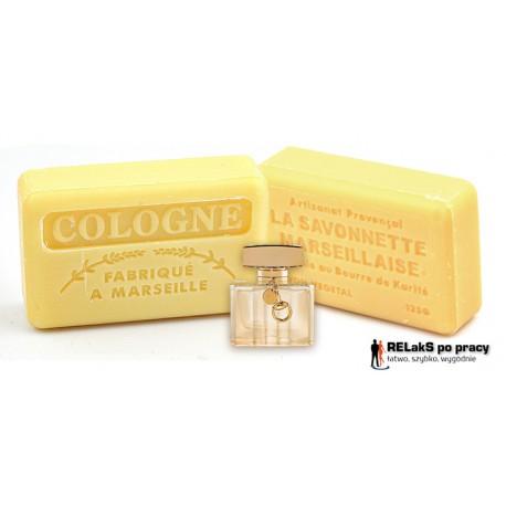 Mydło marsylskie o męskim kolońskim zapachu 125g