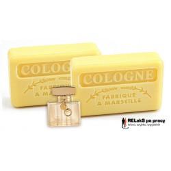 Duopak mydło marsylskie o męskim kolońskim zapachu 125g