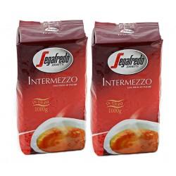 Duopak kawa ziarnista Segafredo Intermezzo 1 kg x 2