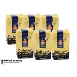 Zestaw kawa ziarnista Dallmayr Prodomo 6 x 500 g