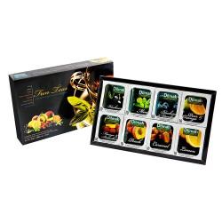 Dilmah herbaciana bombonierka Fun Teas 80 kopert