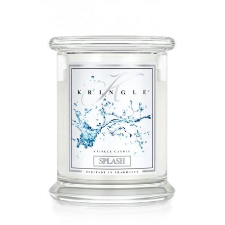 Aromatyczna świeca SPLASH w zamykanym szklanym słoiku