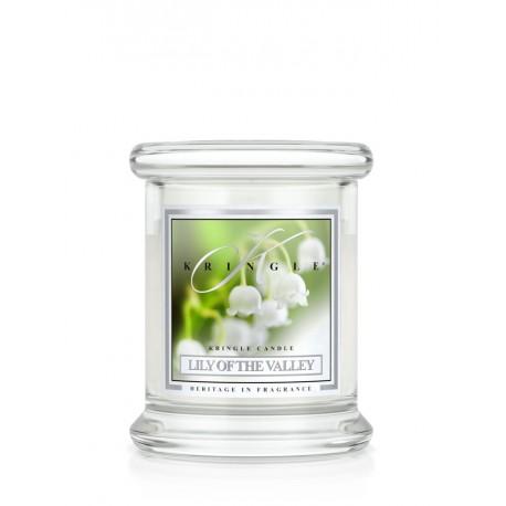 Aromatyczna świeca LILY OF THE VALLEY w zamykanym szklanym słoiku