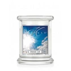 Aromatyczna świeca FRESH AIR w zamykanym szklanym słoiku