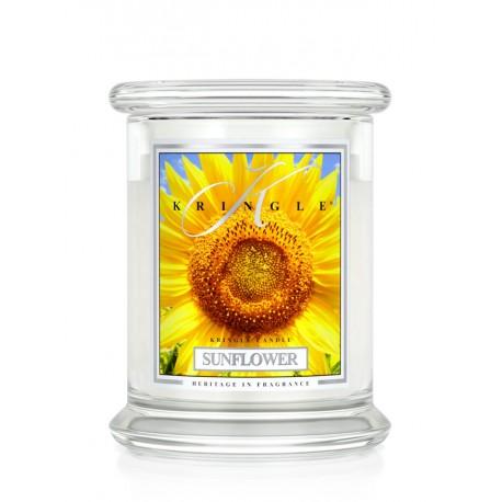 Aromatyczna świeca SUNFLOWER SUNRISE w zamykanym szklanym słoiku