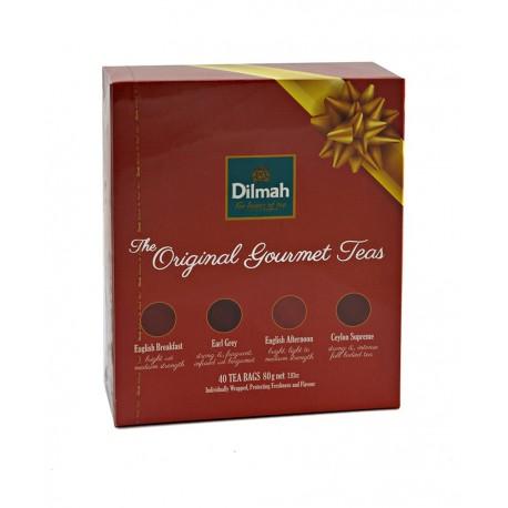 Dilmah bombonierka Herbaciana Original Gourmet Teas Gift Pack 40 kopert