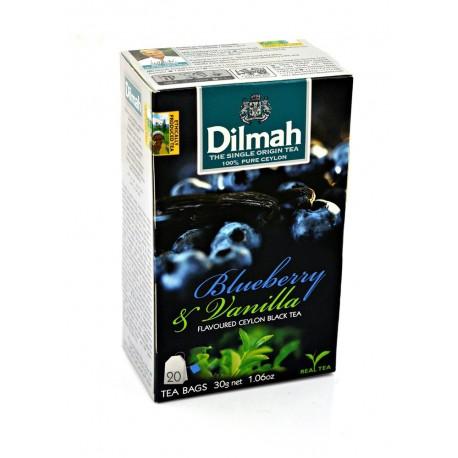 Herbata Dilmah Blueberry & Vanilla 20 torebek