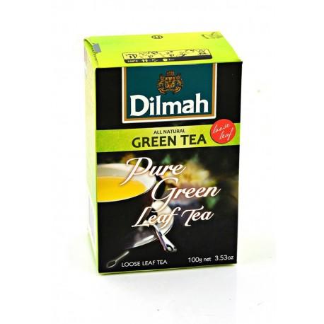 Herbata Dilmah Green Tea Natural 100g herbaty sypkiej