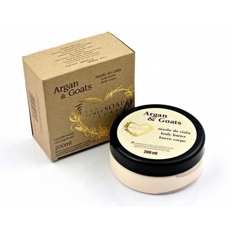 Masło do ciała Argan&Goats 200 ml z olejkiem arganowym