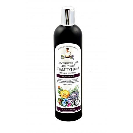 Syberyjski szampon do włosów na cedrowym propolisie – wzmacniający, 550ml