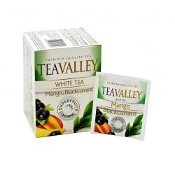 Herbata biała TEAVALLEY z superowocami Mango i Czarna Porzeczka 15 kopert