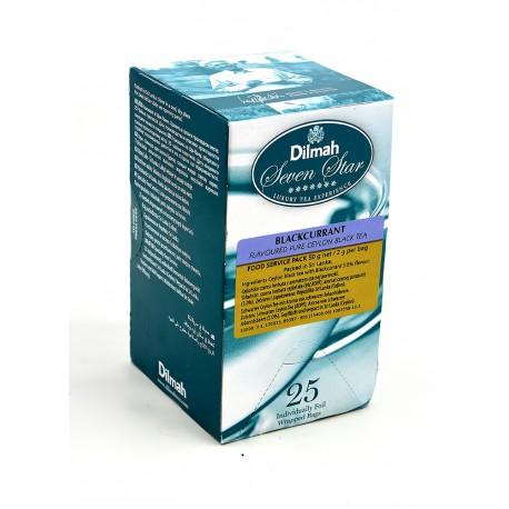 Herbata Dilmah Blackcurrant 25 kopert