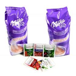Dwupak czekolada do picia Milka 2 x 1000 g