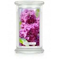 Large 2 Wick Classic Apothecary Jar : Świeży bez