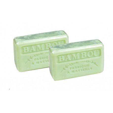 Duopak mydło marsylskie Bambus 2x125g