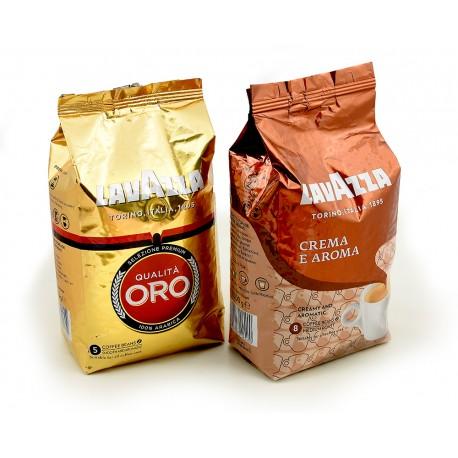 Zestaw kawy ziarnistej Lavazza Oro plus Creme Aroma 2 x 1 kg
