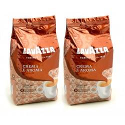 Duopak Kawy ziarnista Lavazza Crema e Aroma 1 kg