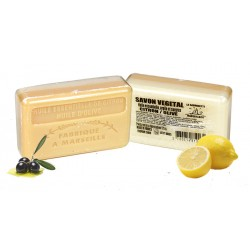Mydło marsylskie Olejek Eteryczny z cytryna +  Oliwa z oliwek 125g