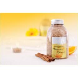 Sól mineralna - Pomarańcz-Cynamon 550g