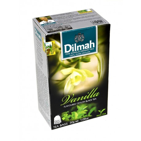 Herbata Dilmah Vanilla 20 torebek