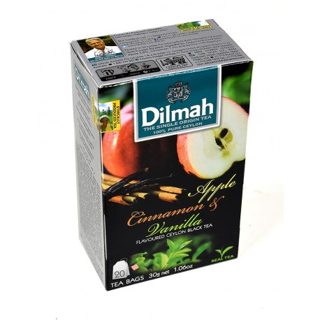 Herbata Dilmah Apple & Cinnamon with Vanilla 20 torebek