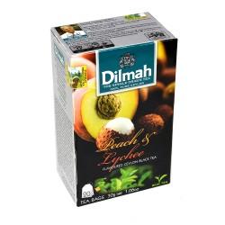 Herbata Dilmah Peach & Lychee 20 torebek