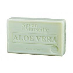 Mydło marsylskie Aloe Vera z dodatkiem oleju ze słodkich migdałów 100g