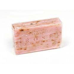 Mydło marsylskie Płatki Róży oraz olej ze słodkich migdałów 100g