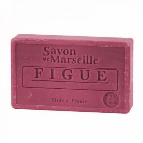 Mydło marsylskie Figa z dodatkiem oleju ze słodkich migdałów 100g