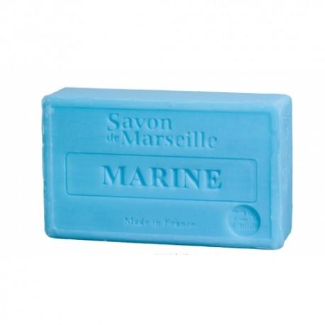 Mydło marsylskie morskie z dodatkiem oleju ze słodkich migdałów 100g