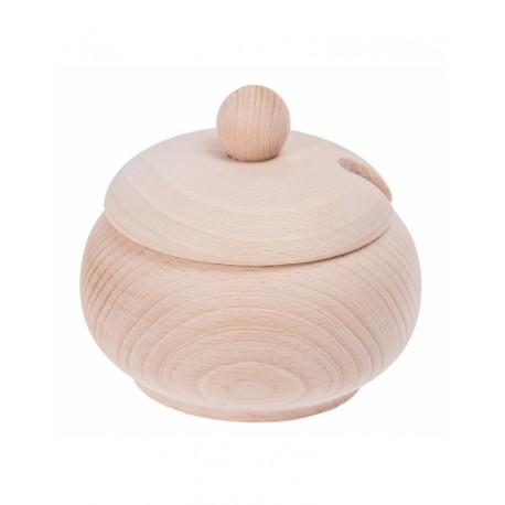 Drewniana cukiernica mała