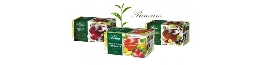 Herbaty owocowe premium w kopertach